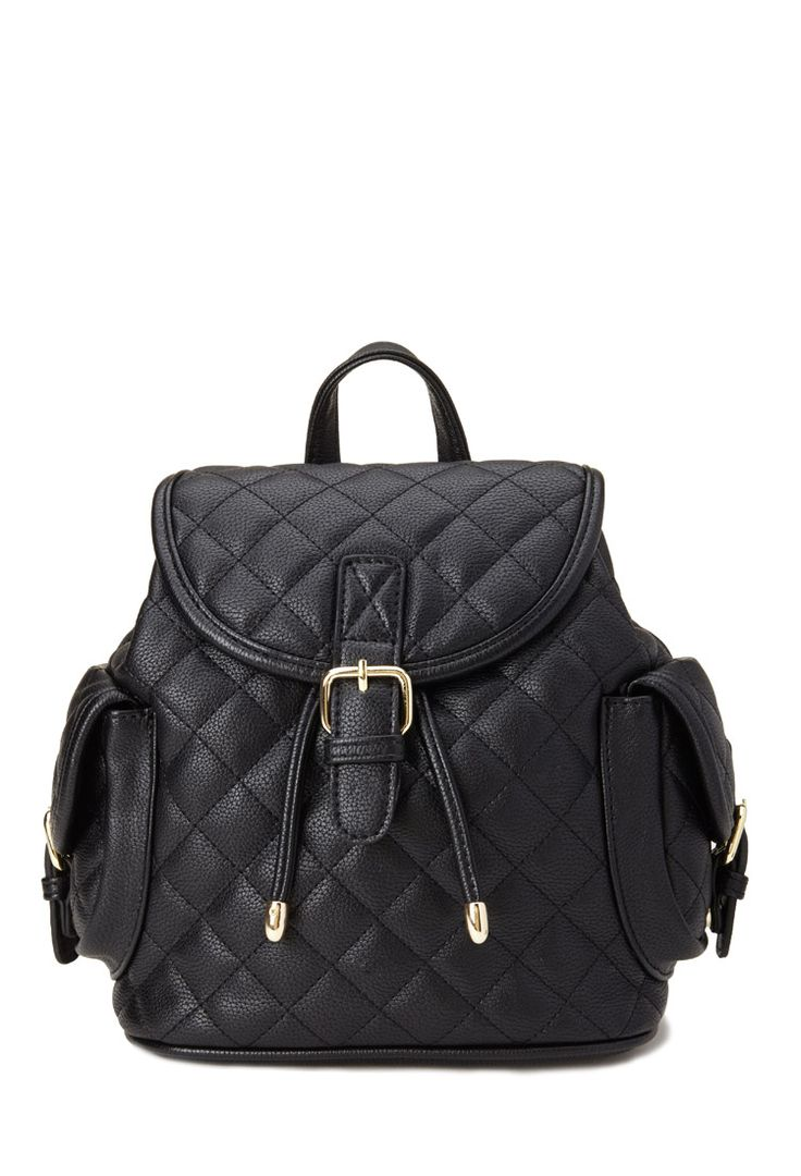 Quilted Faux Leather Backpack | FOREVER21 - 1000083333