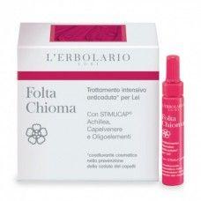 Folta Chioma Hajhullás elleni kezelés Hölgyeknek - Rendeld meg online! Lerbolario Naturkozmetikumok http://lerbolario-naturkozmetikumok.hu/kategoriak/hajapolas/folta-chioma