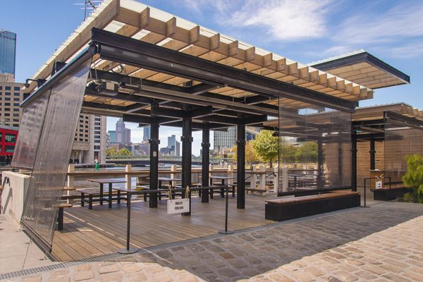 Waterfront Deck | The Boatbuilders Yard | South Wharf | VENUES