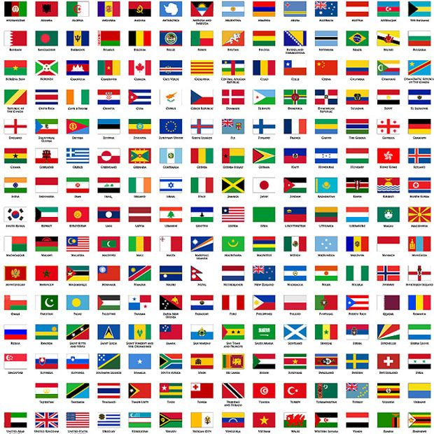 Ms de 25 ideas increbles sobre Banderas del mundo en Pinterest