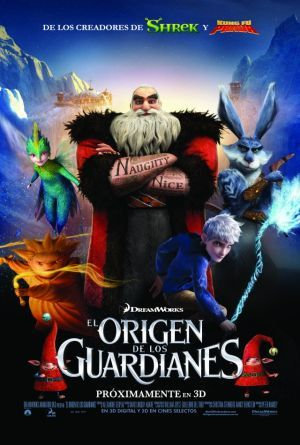 El Origen de los Guardianes Trailer Español.