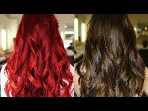Como Remover o VERMELHO do cabelo para VOLTAR A COR NATURAL