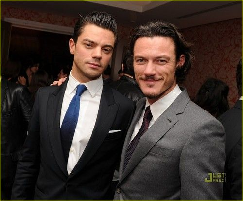 Luke Evans and Dominic Cooper