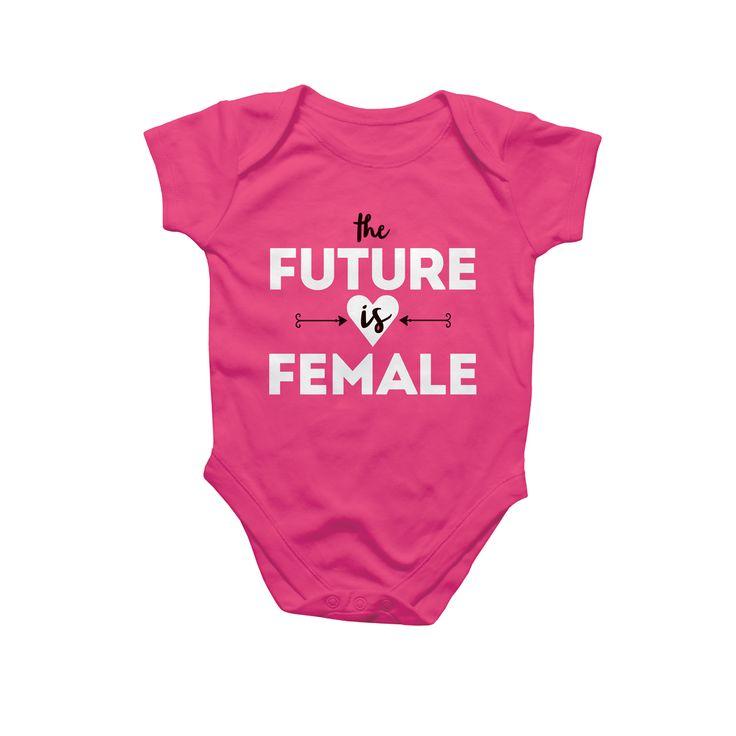 Rock Scissor Paper - Future is Female Bodysuit, $25.00 (http://www.rockscissorpaper.com/future-is-female-bodysuit/)