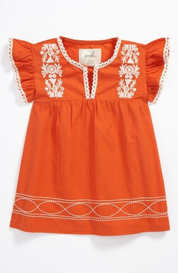 Peek Calypso Dress (Baby) available at #Nordstrom