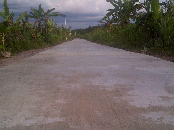 Pembangunan Jalan Desa TTL Selesai, Warga Apresiasi Pemerintah