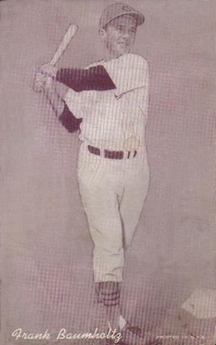 1947-66 Exhibits W461 #17 Frank Baumholtz Front