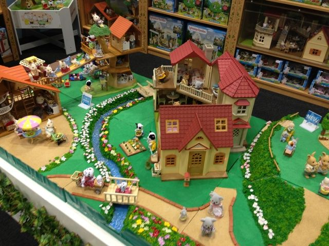 From the perspective of a Sylvanian Families lover - WOW! #sylvanianfamilies #entropy #toyfair