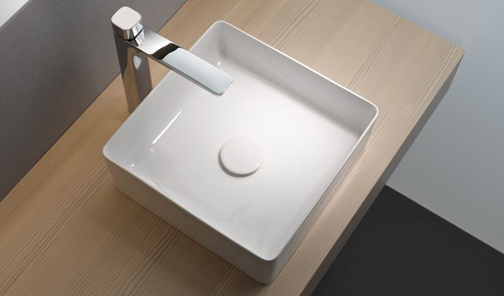 Fine lines with the LAUFEN Living Square Counter Basin