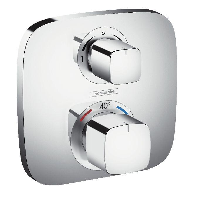 Ecostat E, Set esterno termostatico ad incasso per 2 utenze