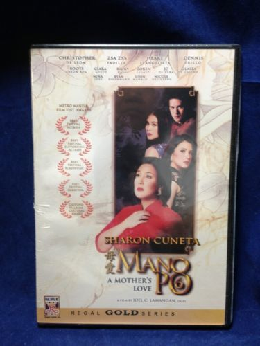 Mano Po 6 Sharon Cuneta & Christopher De Leon Filipino DVD