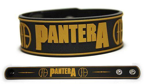Pantera Rubber Bracelet Wristband Cowboys from Hell vulgar Display of Power | eBay