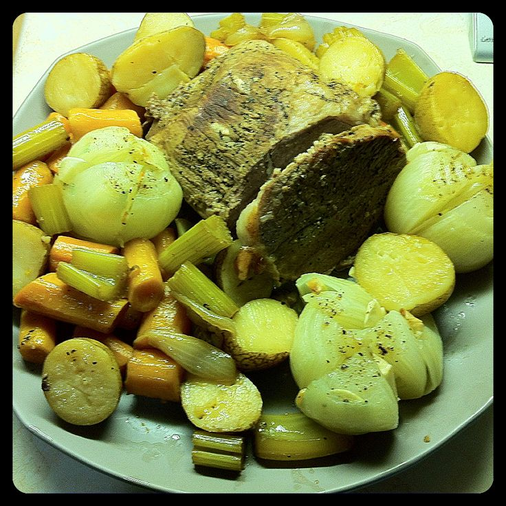 Baked Onions and Beef Pot Roast Recipe