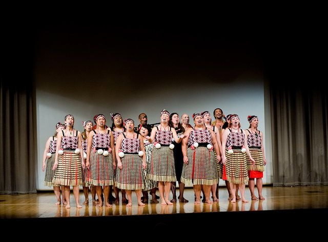 London based Maori club Ngāti Rarana performing Ka Pioioi E at the Opening…