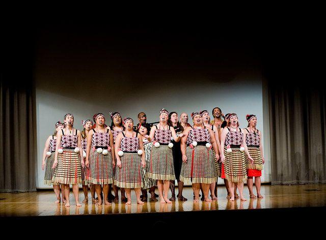 London based Maori clubNgāti Rarana performing Ka Pioioi E at the Opening…