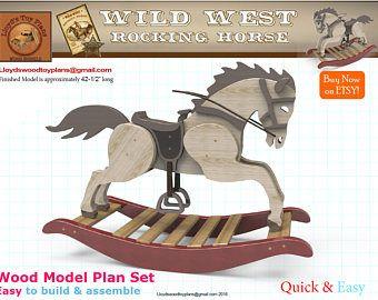 Wild West Rocking Horse Horses 9 Rocking Horse Plans Wood Toys