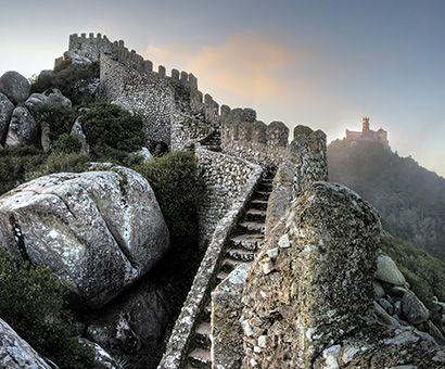 Itineraries of visit | Parques de Sintra - Monte da Lua