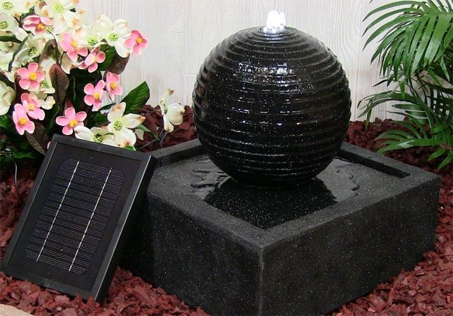 17 Best Images About Solar Water Fountains On Pinterest