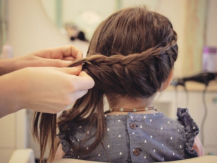 """""""mini"""" hair tutorial."""