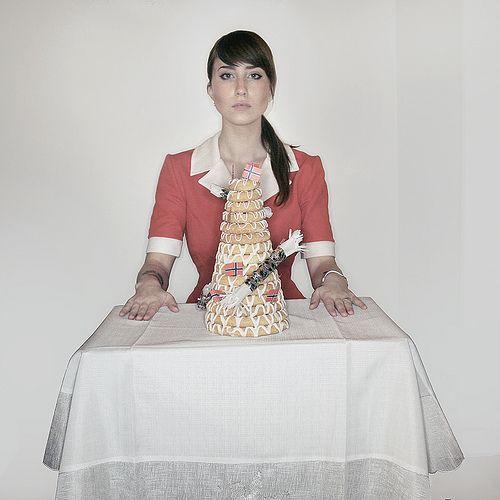 kransekake - norwegian cake. | Mariell Amélie | Flickr