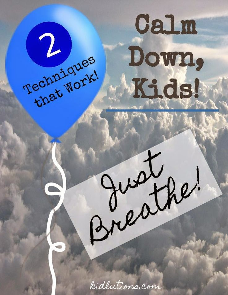Teaching Kids to Calm Down
