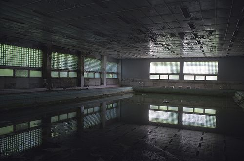 Abandoned soviet hospital, Poland