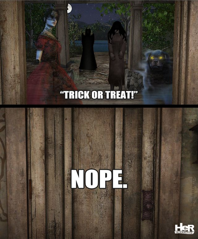 Would you invite them in?  #NancyDrew #Meme #HerInteractive