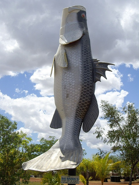 The Big Barramundi, Normanton #TropicalNorthQueensland