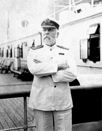 Edward John Smith - also known as Edward J. Smith, captain of the Titanic. It was his plan to retire at the conclusion of the roundtrip voyage (photo: Southampton Maritime Museum)