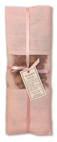 elizabethW 79747SET Rose Drawer Liner in Pink Linen- Set of 2 by elizabethW. $60.00. Color: Pink. Scent: Rose. Silk band. Size: 16 x 22. Rose petals are delicately fragranced with elizabethW's signature rose essence. Line your pillow with rose for sweet scented dreams or lightly scent a drawer or suitcase.