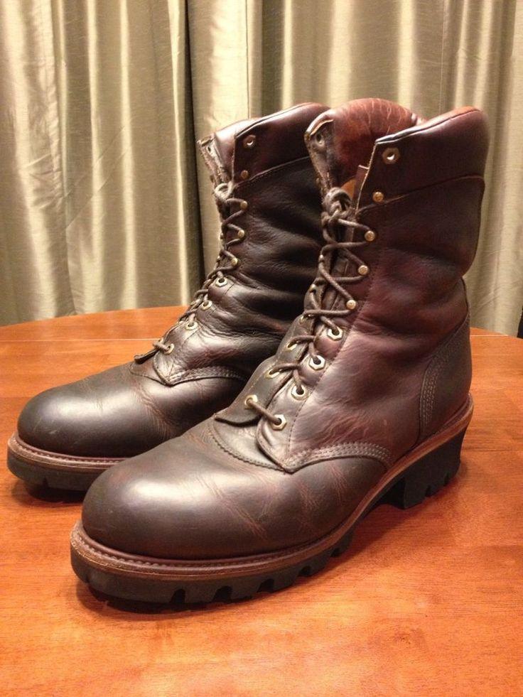 Chippewa Logger Boots 13 E #Chippewa #Logger
