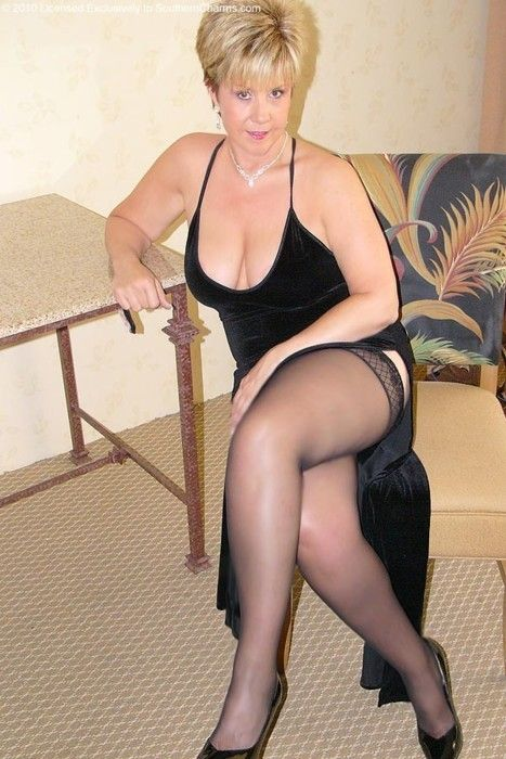 Sex mom stockings-7435
