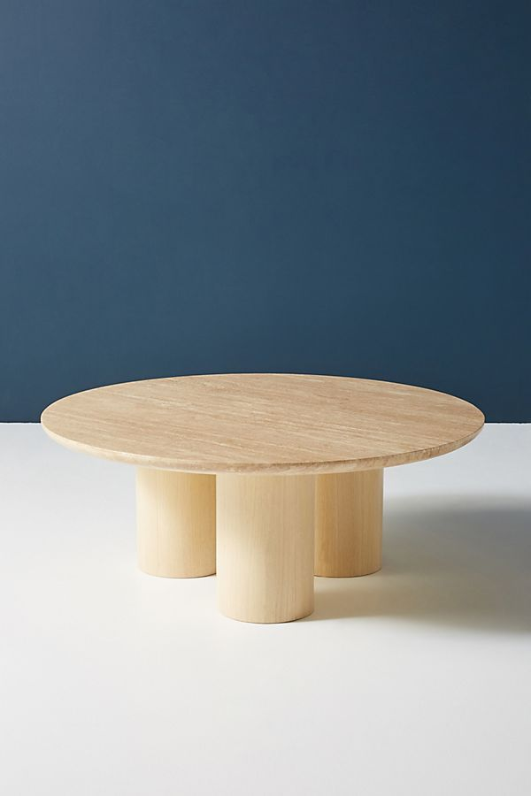 Anya Travertine Coffee Table Travertine Coffee Table Coffee