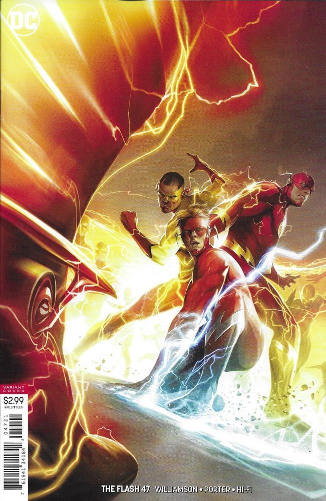 Dc Flash Comic Issue 47 Limited Variant With Images Flash