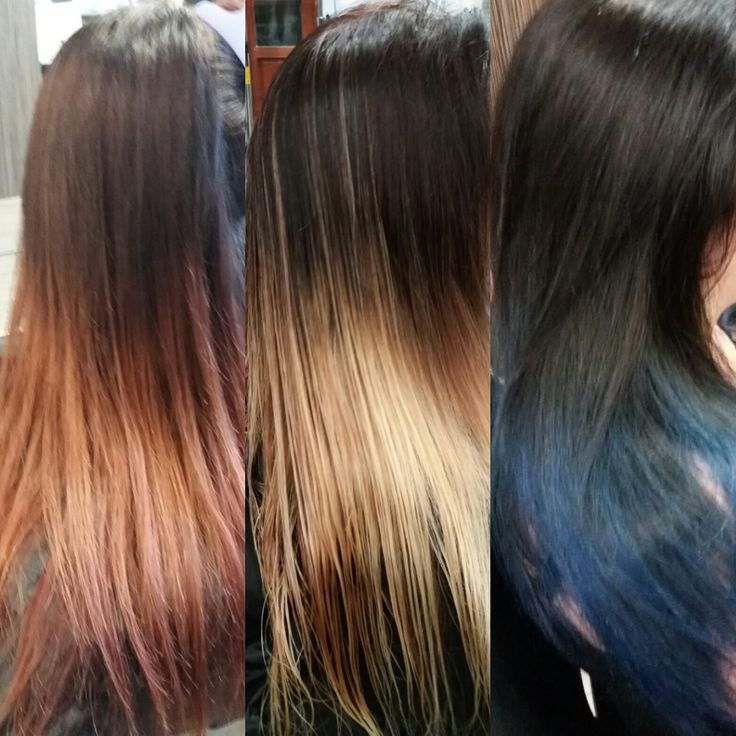 From fading red to blue Make over