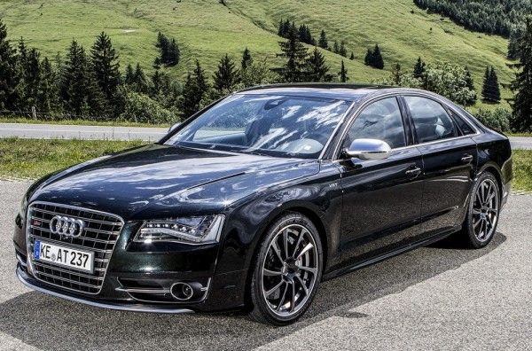 ABT Sportsline has revealed the new high performance variant of Audi A8 luxury car. Called the Audi AS8, ABT has tagged the huge Audi car as the real sports car limo. The production version of Audi's S8 is powered by a 4.0 liter twin turbocharged V8 TFSI generating 520 hp and 650 Nm. ABT has tuned the V8 which now thumps out 620 hp and 780 Nm torque.