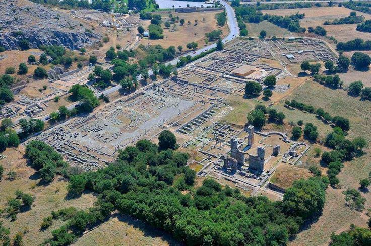 #unesco #archaeological #sites - #Philippi , #historical #Macedonia , #greece.