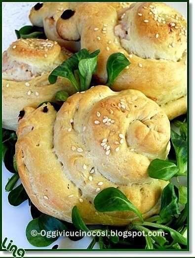 ©Oggi vi cucino così!: Panini Lumachine ,Chiocciole & C.-per la tavola pasquale