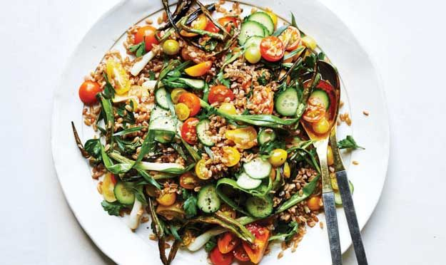 Check out 21 Best Bon Appetit Magazine Recipes | Farro & Tomato Salad With Fish Sauce Vinaigrette by Homemade Recipes at http://homemaderecipes.com/course/breakfast-brunch/bon-appetit/