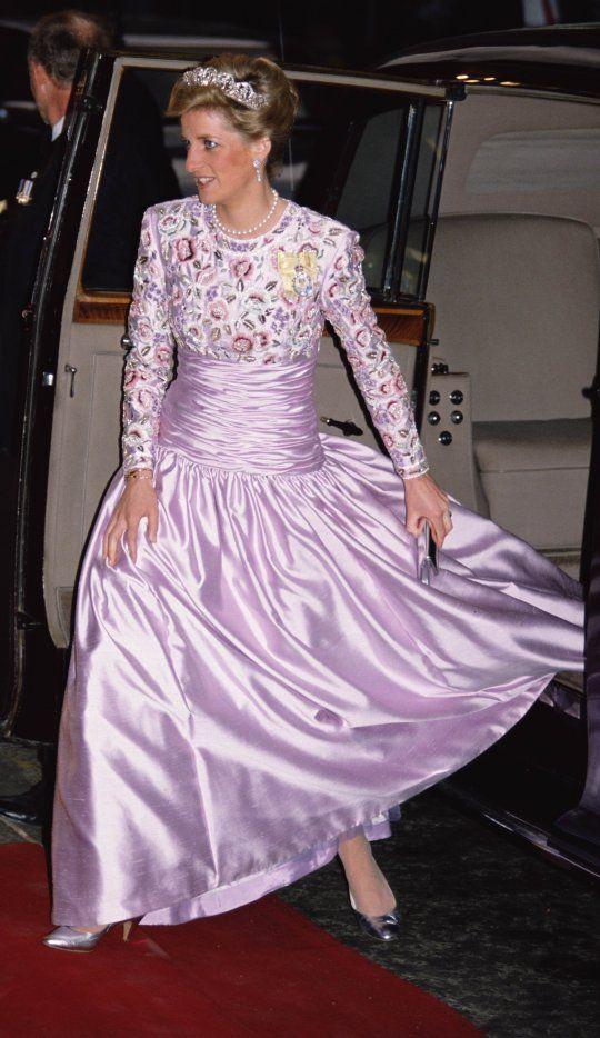 Image - Ibrahim Babangida, the Nigerian President, Banquet au Claridges Hotel, le 16 mai 1989 - Blog sur Lady Diana , William , Catherine , George... - Skyrock.com