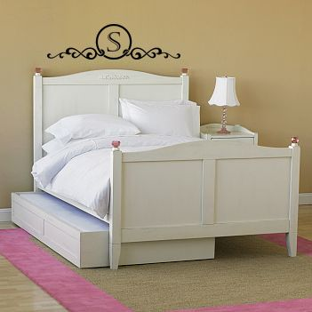 Monogram Headboard Frame | Wall Decals - Trading Phrases