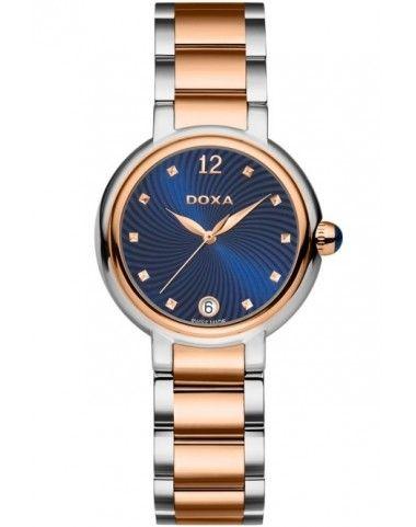 Zegarek Szwajcarski DOXA Blue Stone 510.15.206.60
