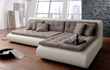 Mona Modular Sectional - contemporary - Sectional Sofas - Chicago - IQmatics $3,799