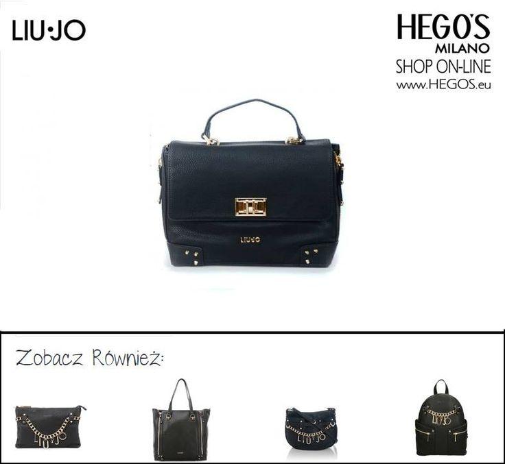 #liujo #hegos #hegosmilano #welovefashion #fashoinforwomen #womenswear #streetfashion #autumn #winter #bag #new #backpack #fashion #black