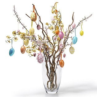 Easter treeHoliday Ideas, Crafts Ideas, Easter Centerpieces, Easter, Easter Crafts, Decoration For, Easter Decor, Easter Trees, Spring