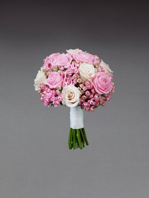 Beautiful Pink Wedding Flowers Exclusively Designed By Vera Wang For Interflora