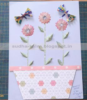 Wall art with Pencil Dust..  For more details,check here- http://sudha-kalra.blogspot.in/2017/05/summer-activities-for-kidsday-5.html