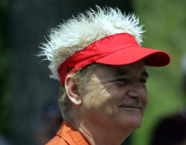 In addition to having a killer sense of humor, Bill Murray is pretty deep.