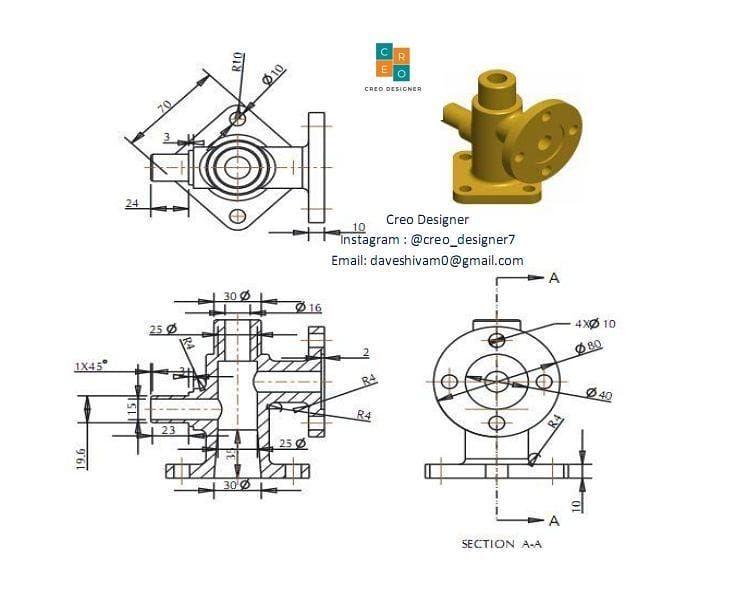 Creo Designer On Instagram Solidworksworld Solidworks Solidworks Modeling Solidworksmodeling Solidworksindi In 2020 Mechanical Design Solidworks Autocad Drawing