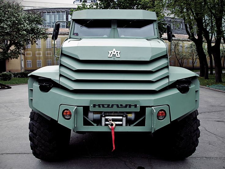 armored car Kolun Russia